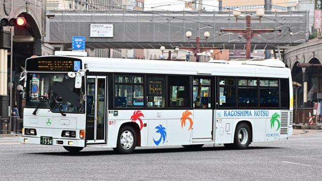 鹿児島交通/日野/KL-HR1JNEE