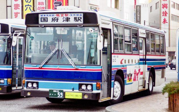 箱根登山鉄道/日野/P-RT223AA
