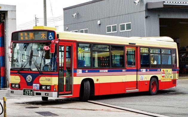 堀川バス/日野/KL-HR1JNEE