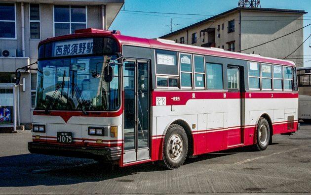 東野交通/いすゞ/P-LV314K(富士重)