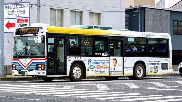 八戸市交通部/いすゞ/KL-LV280L1改