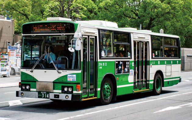 熊本市交通局→熊本都市バス/日野/U-HU2MLAA