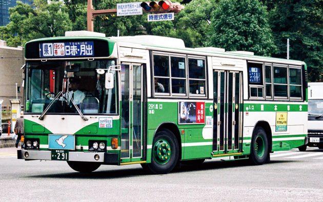 熊本市交通局→熊本都市バス/日野/U-HT2MLAA
