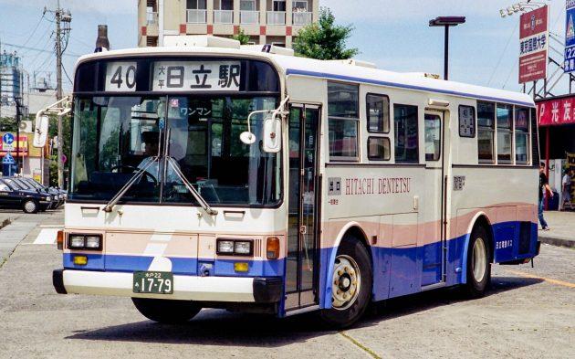 日立電鉄バスG/いすゞ/P-LV314K(富士)