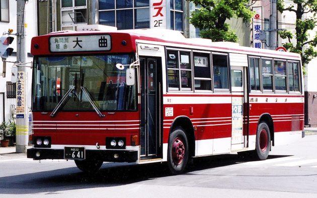 羽後交通/日野/P-RT223AA