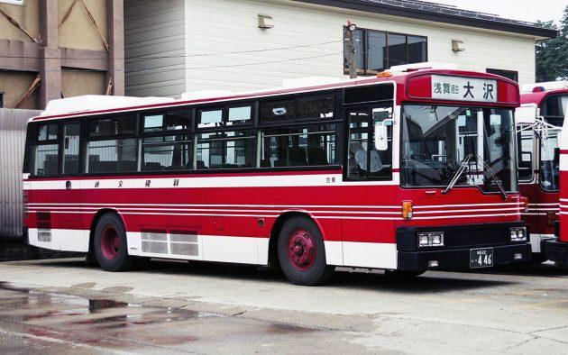 羽後交通/三菱/P-MP118K(都市新)
