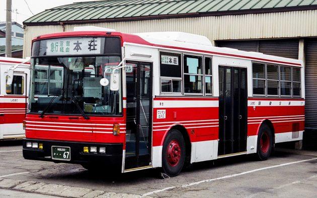 羽後交通/いすゞ/P-LV314K(富士7E)
