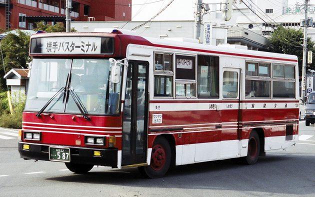 羽後交通/いすゞ/P-LR312J