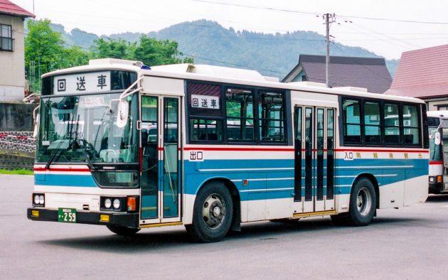 越後交通(南越後観光バス)/三菱/U-MP218K(新呉羽)