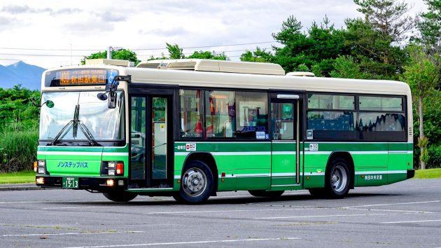 秋田中央交通/いすゞ・日野/PJ-LV234L1