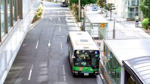 都営バスが路線車で五輪ホテル送迎に参入