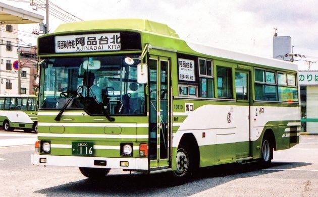 広島電鉄/日野/P-RJ172BA
