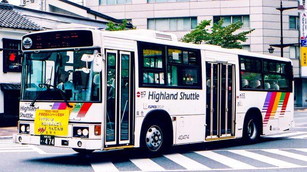 川中島バス(アルピコ交通)/日野/U-HU2MLAA