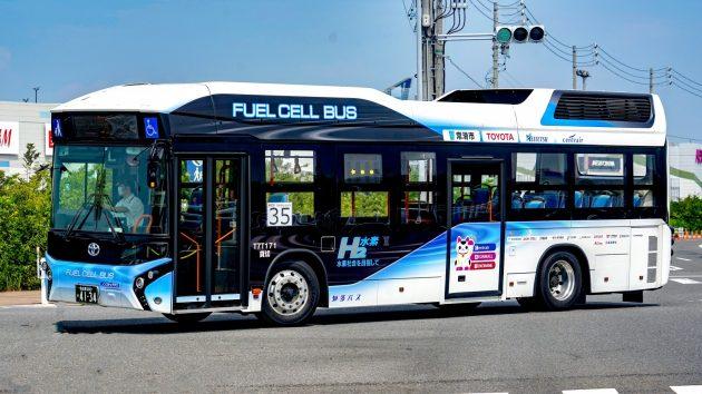 知多乗合/トヨタ/燃料電池(TFCB)