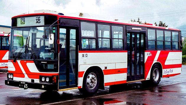 ふらのバス/三菱/P-MP218K