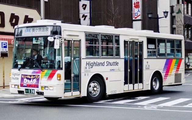 松本電気鉄道(アルピコ)/いすゞ/U-LV324K(富士)