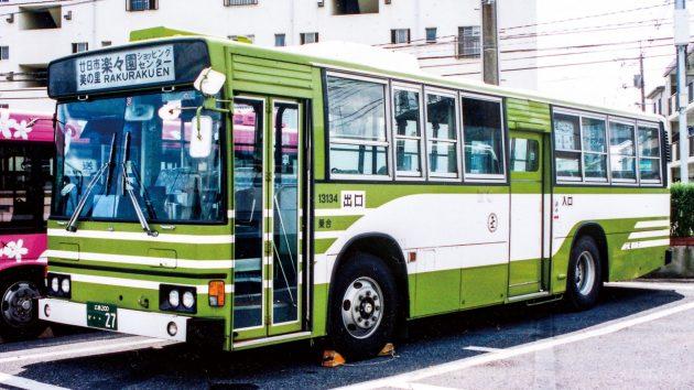 広島電鉄/日野/P-HT233BA