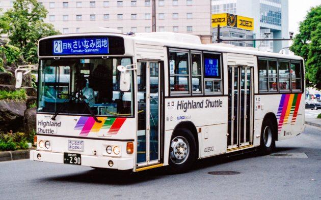 川中島バス(アルピコ交通)/日野/U-HT2MLAA